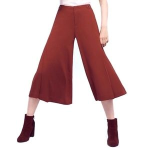 Anthropologie Pants - Anthropologie Copper Essential Culotte Wide Pants